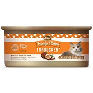 Merrick Purrfect Bistro Grain-Free Turducken Minced in Gravy Canned Cat Food, 5.5-oz, case of 24