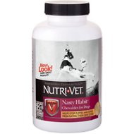 Nutri-Vet Nasty Habit Dog Chewables, 120 count