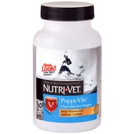 Nutri-Vet Puppy-Vite Dog Chewables, 60-count