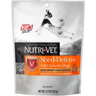 Nutri-Vet Shed Defense Dog Soft Chews, 5.3-oz bag