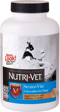 5. Nutri-Vet Senior-Vite Chewables for Dogs