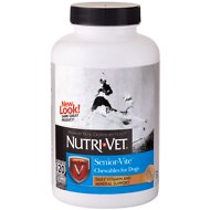 Nutri-Vet Senior-Vite Dog Chewables, 120 count