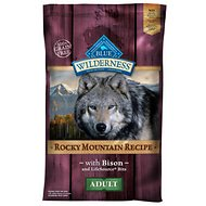 Blue Buffalo Wilderness Rocky Mountain Recipe with Bison Adult Grain-Free Dry Dog Food, 22-lb bag