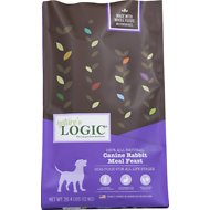 Nature's Logic Rabbit Recipe Dry Dog Food, 26.4-lb bag