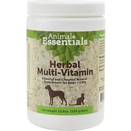 Animal Essentials Herbal Multi-Vitamin Dog & Cat Supplement, 10.6-oz jar