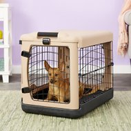 Pet Gear The Other Door Steel Crate & Fleece Pad, Small
