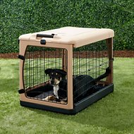 Pet Gear The Other Door Steel Crate & Fleece Pad, Medium