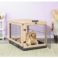 Pet Gear The Other Door Steel Crate & Fleece Pad, Large