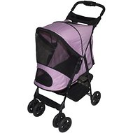 Pet Gear Happy Trails Stroller & Weather Cover, Pink Ice