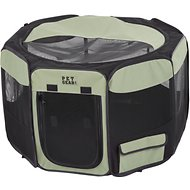 Pet Gear Travel Lite Soft-Sided Pet Pen with Removable Top, Sage, Small