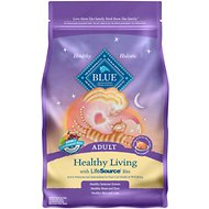 Blue Buffalo Healthy Living Chicken & Brown Rice Recipe Adult Dry Cat Food, 3-lb bag