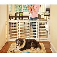 MyPet Plastic Extra-Wide Pet Gate for Dogs & Cats