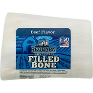 Redbarn Small Beef Filled Bones Dog Treats, 2.5-in chew, 1 count