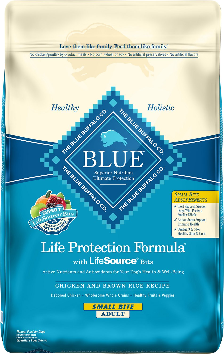 Blue buffalo life protection formula small bite adult chicken video forumfinder Choice Image