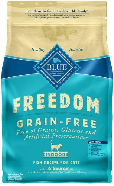 Blue Buffalo Freedom Grain Free Dry Adult Cat Food Lb