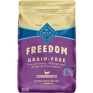Blue Buffalo Freedom Indoor Mature Chicken Recipe Grain-Free Dry Cat Food, 11-lb bag
