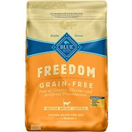 Blue Buffalo Freedom Indoor Weight Control Chicken Recipe Grain-Free Dry Cat Food, 11-lb bag