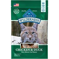 Blue Buffalo Wilderness Chicken & Duck Grain-Free Cat Treats, 2-oz bag