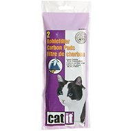 Catit Hooded Cat Pan Replacement Carbon Pads, 2-count