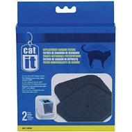 Catit Hooded Cat Pan Replacement Carbon Filters, 2-count