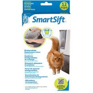 Catit Design SmartSift Biodegradable Replacement Liners, For cat pan base