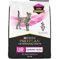 Purina Pro Plan Veterinary Diets UR St/Ox Urinary Formula Dry Cat Food, 16-lb bag