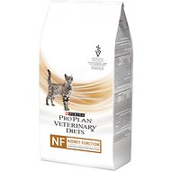 Purina Pro Plan Veterinary Diets NF Kidney Function Advanced Care Formula Dry Cat Food, 6-lb bag
