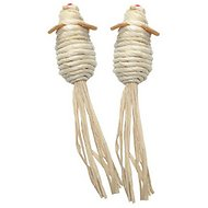 Catit Cornhusk & Raffia Mice Cat Toy, 2 count