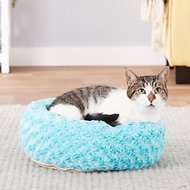 Catit Style Donut Bed, Blue