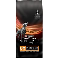 Purina Pro Plan Veterinary Diets OM Overweight Management Formula Dry Dog Food, 32-lb bag