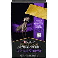 Purina Pro Plan Veterinary Diets Dental Chewz Dog Treats, 5-oz box