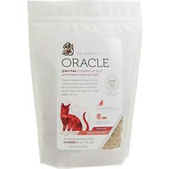 Dr. Harvey's Oracle Grain-Free Beef Formula Freeze-Dried Cat Food, 21-oz bag