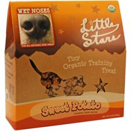 Wet Noses Sweet Potato Little Stars Dog Treats, 9-oz box