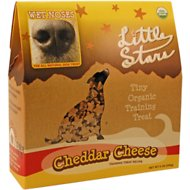 Wet Noses Cheddar Cheese Little Stars Dog Treats, 9-oz box