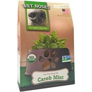Wet Noses Carob & Mint Dog Treats, 14-oz box