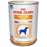 Royal Canin Veterinary Diet Mature Consult Canned Dog Food, 13.6-oz, case of 24