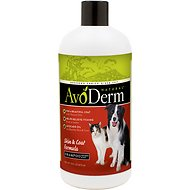 AvoDerm Natural Skin & Coat Formula Dog & Cat Shampoo, 16-oz bottle