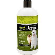 AvoDerm Natural Skin & Coat Formula Dog & Cat Conditioner, 16-oz bottle