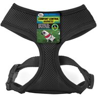 Four Paws Comfort Control Dog Harness, Black, Large