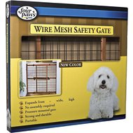 Four Paws Wire Mesh Safety Gate, Large