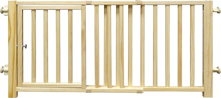 Four Paws Smart Walk Over Wood Gate Chewy Com