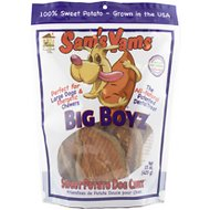 Sam's Yams Big Boyz Sweet Potato Dog Treats, 15-oz bag