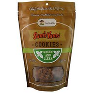 Sam's Yams Green & Clean Cookies Dog Treats, 4.5-oz bag