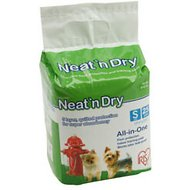 IRIS Neat 'n Dry Floor Protection & Training Pads, Small, 25-count
