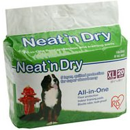 IRIS Neat 'n Dry Floor Protection & Training Pads, Extra Large, 20 count