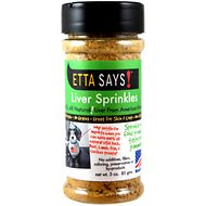 Etta Says! Liver Sprinkles Freeze-Dried Dog Treats, 3-oz jar