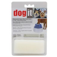 Dogit Design Fresh & Clear Drinking Fountain Foam Filter Insert, 2 pack