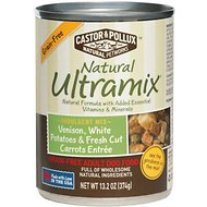 Castor & Pollux Natural Ultramix Venison, White Potatoes & Fresh Cut Carrots Entree Grain-Free Adult Canned Dog Food, 13.2-oz, case of 12