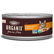 Castor & Pollux Organix Grain-Free Chicken Pate Recipe Adult Canned Cat Food, 5.5-oz, case of 24