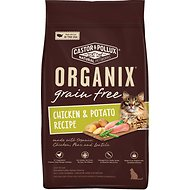 Castor & Pollux Organix Grain-Free Chicken & Potato Recipe Dry Cat Food, 4-lb bag